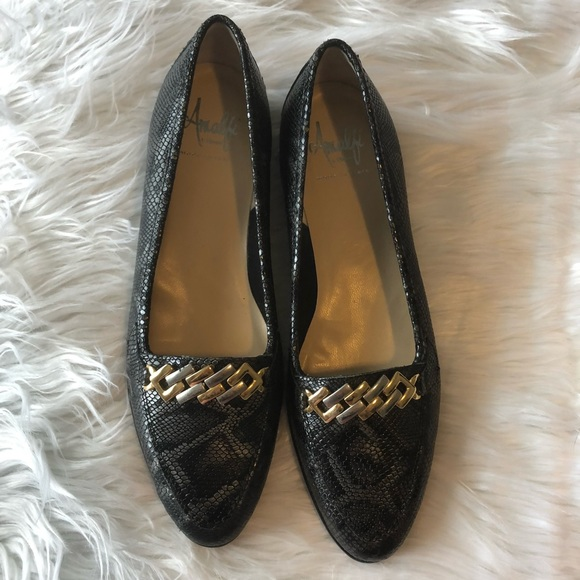 add178dd269b Amalfi Shoes - Amalfi made in Italy Women s loafers size 8 1 2